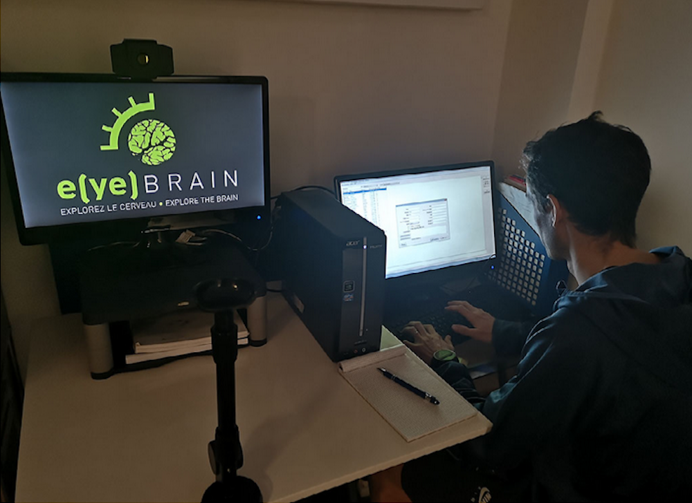 Analyse de la coordination oeil cerveau